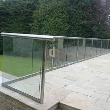 China Modern Garden Fence Terrace Glass Fence Balcony Decorative Garden Fencing China Garden Fence Fence