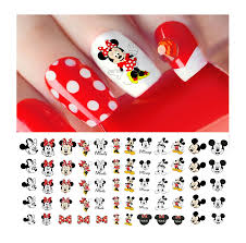 Mickey Mouse & Minne Mouse Nail Art Decals - Salon Quality! Disney -  Walmart.com - Walmart.com