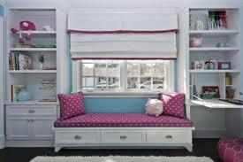 Window Seat In The Children S Room White Built In Wardrobes Bedroom Window Seat Bedroom Design Girl Room