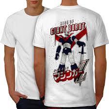 rise of giant robot men whitet shirt