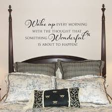 Large Wake Up Every Morning With The Thought Wall Decal Etsy