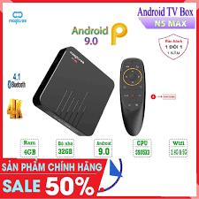 Android Tivi Box Magicsee N5 Max - Tivi Box Ram 4Gb - Bộ nhớ 32Gb ...