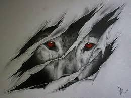 Cool Wolf Art Wolf Ripping Outta Skin Drawings Google Search More Cool Art Drawings Cool Drawings Wolf Eye Tattoo