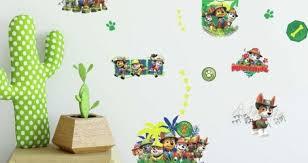 Jungle Leaves Wall Decals Baby Mural Safari Art Large For Nursery Vine Etsy Vamosrayos