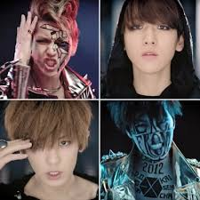exo beauty evolution see the k pop