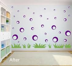 Purple Bubble Wall Decals Bubble Wall Stickers Whimsidecals