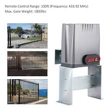 Sliding Gate Opener With Wireless Remotes Roller Gate Motor Automatic Slide Gate Operater Kit For Fence Driveway Sold By Banyan Imports Rakuten Com Shop