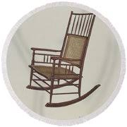 Shaker Rocking Chair Drawing by Adele Brooks