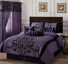 bedding full queen cal king bed black