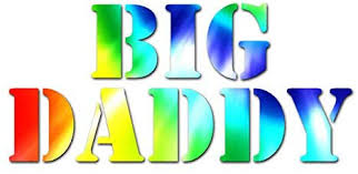 Amazon Com Big Daddy Vinyl Decal Sticker 17 X 7 75 Tie Dye Home Improvement