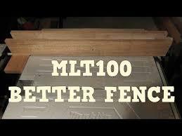 3 Makita Mlt100 Table Saw Rip Fence Upgrade Youtube Table Saw Accessories Table Saw Fence Essential Woodworking Tools
