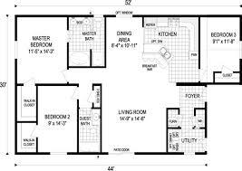 1 500 sq ft floor plan