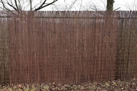 Willow Rolled Fences
