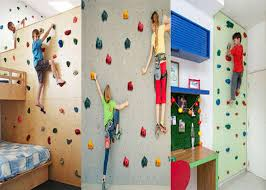 Indoor Rock Climbing Wall For Kids Physical Psychological And Mental Growth