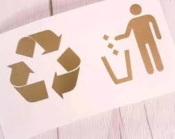 Trash Decals Etsy