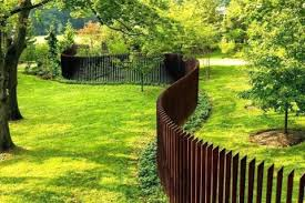 Laser Cut Corten Steel Plate Fence For Garden Decoration Suppliers And Manufacturers China Factory Gnee