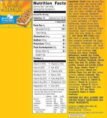 10 best photos of cheerios food label