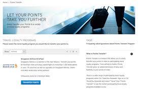 krisflyer miles on singapore airlines