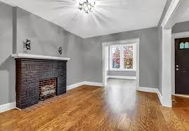 stylish black brick fireplace design
