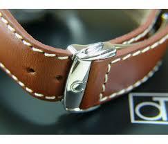 22 18mm genuine bull leather strap 2