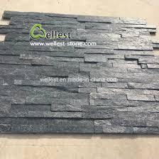 black quartzite cultured stone veneer