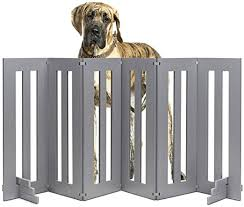 Amazon Com Nmn Products Best Outside Dog Gate Backyard Dog Large Long Folding Dog Fence For Outside Deck Garden Freestanding Expandable Extra Tall Wide Outdoor Dog Fence 32 Inch Tall 6 Panels
