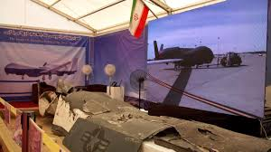 iran shows off downed us predator drone
