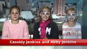 Cassidy Jenkins and Abby Jenkins - 7 News Experience - YouTube