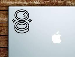 Make Up Mirror Laptop Wall Decal Sticker Vinyl Art Quote Macbook Apple Boop Decals