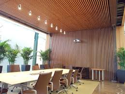 wood slat ceiling wood slat wall