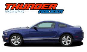 Thunder Rocker Ford Mustang Stripes Mustang Decals Vinyl Graphics