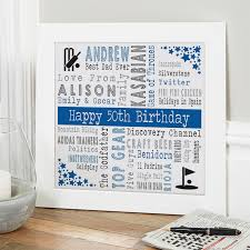 men s personalized 50th birthday gifts
