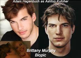 Adam Hagenbuch as Ashton Kutcher #aplusk in Brittany Murphy Biopic | Stars  then and now, Brittany murphy, Ashton kutcher