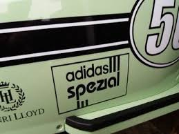Adidas Spezial Cut Self Adhesive Vinyl Decal Sticker
