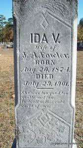 Ida V. Fowler (1874-1901) - Find A Grave Memorial