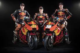 Pol Espargaro, Mika Kallio & Bradley Smith KTM RC16 2018   I ...