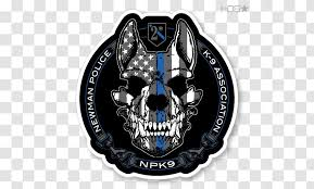 Malinois Dog Police Sticker Decal Thin Blue Line Hardware Transparent Png
