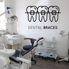 Teeth Care Wall Sticker Dental Clinic Vinyl Wall Decal Tooth Shop Decoration Wallpaper Mural Removable Quote Window Decal 3538 Leather Bag