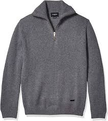 pullover with leather elbow patches