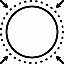 Barrier Limit Boundary Border Circle Range Borderline Icon Download On Iconfinder