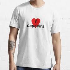 Dance I Love Capoeira T Shirt Camisa Top T Shirt By Deanworld Redbubble