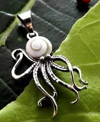 octopus sterling silver pendant jewelry