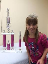 Abigail Ross Stopped in and She Brought Her Trophies for us to See! |  Scheck & Siress