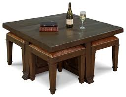 ugo coffee table stools solid walnut