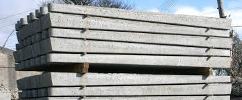 Gravel Boards Concrete Posts For Strained Wire Fencing