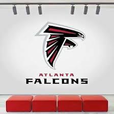 Atlanta Falcons Logo Wall Decal Sports Window Sticker Decor Vinyl Nfl Cg038 Ebay