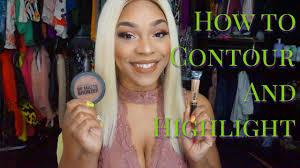 beginner makeup how to contour