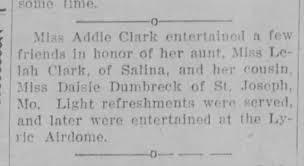 Addie Clark - Lelah Clark - Daisie Dumbreck - Party - Junction ...