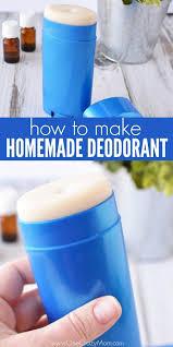 homemade deodorant recipe best all