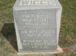 Iva Perry Wiggs (1887-1912) - Find A Grave Memorial